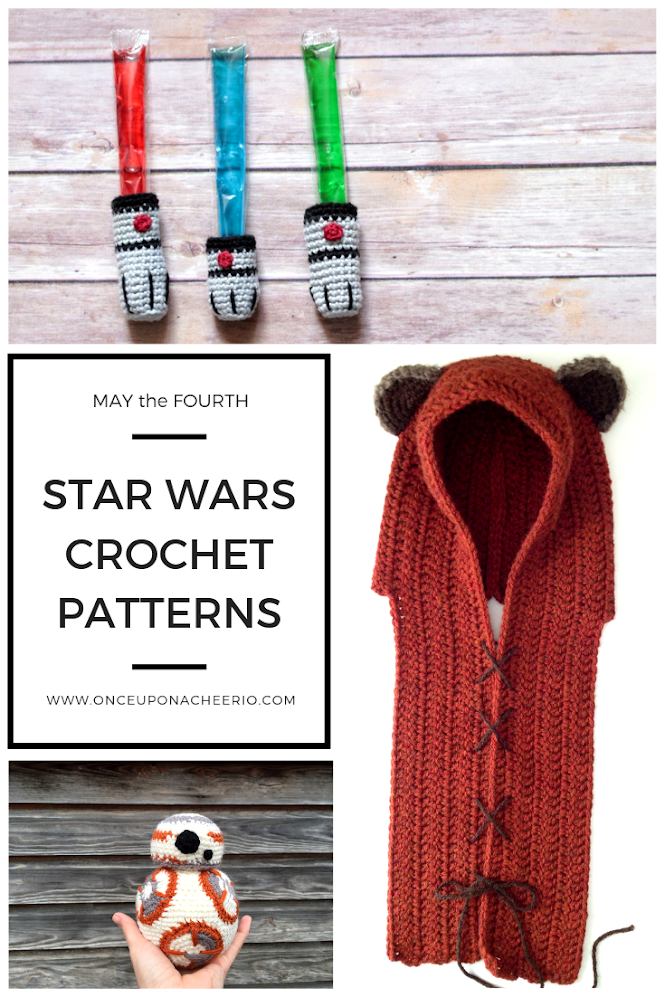 May the Fourth Star Wars Crochet Patterns