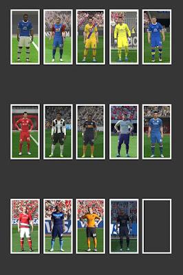 PES 2016 English League 16-17 Kitpack by MRI_20