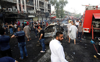 Baghdad suicide bombing - world news