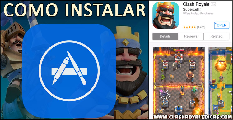 Instalar Clash Royale Apple Store Canadá