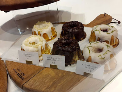 Tea cakes from In Good Company at ION Orchard