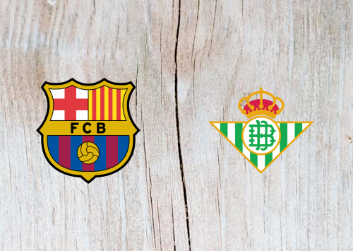 Barcelona vs Real Betis - Highlights 11 November 2018