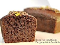 Resep Kue Bolu Cokelat Panggang Untuk Camilan Lezat Berbuka Puasa