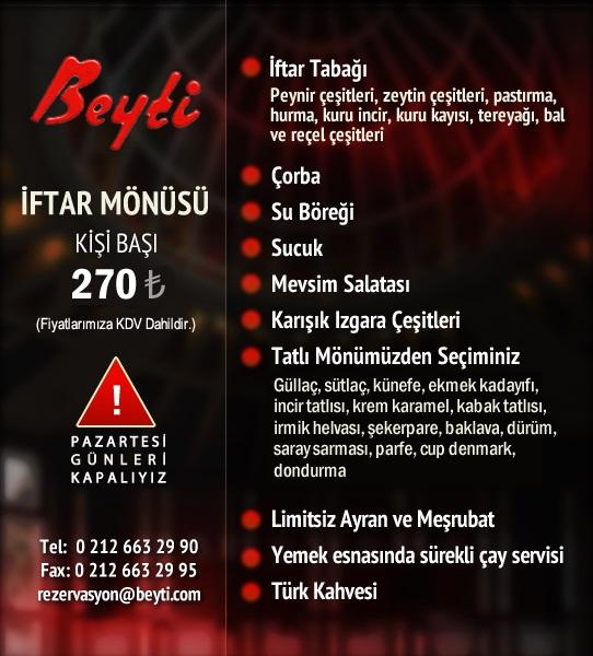 beyti florya iftar beyti et lokantası menu istanbul lüks iftar mekanları istanbul lüks restoranlar 2019