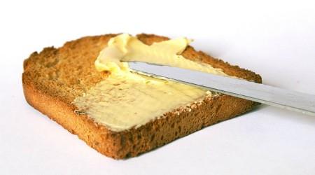 Tostada de mantequilla