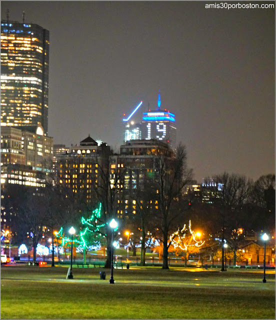 19 en el Prudential de Boston desde el Common