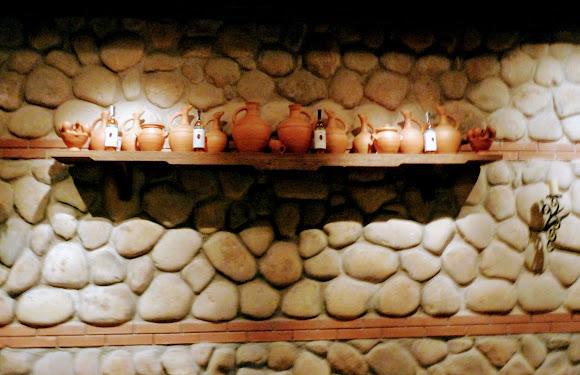 Шабо. Центр культуры вина. Музей. Грузинская экспозиция