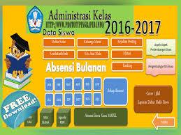 Aplikasi 20 Program Administrasi Guru Dan Wali Jenjang Pendidikan SD,SMP,SMA dan SMK Terbaru 2016