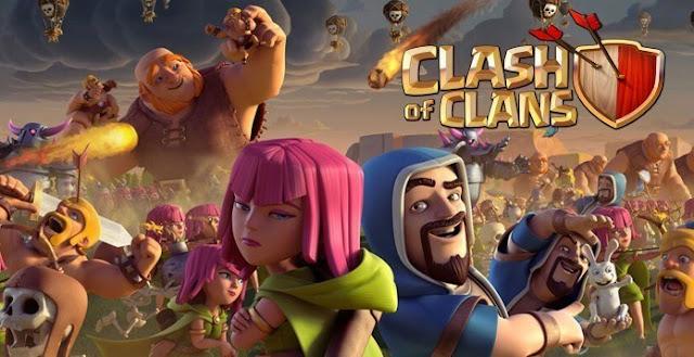 تنزيل لعبة كلاش اوف كلانس Clash of Clans للاندرويد مجانا برابط مباشر