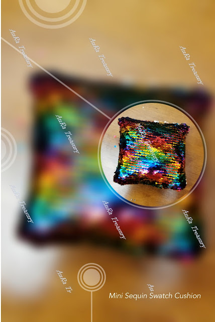 Mini Sequin Swatch Cushion