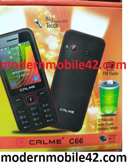 calme c66 flash file