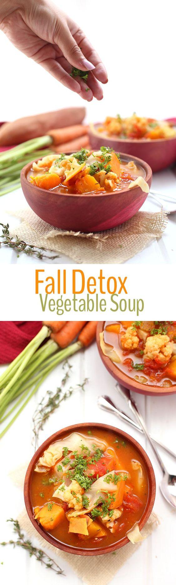 Fall Detox Vegetable Soup Recipe