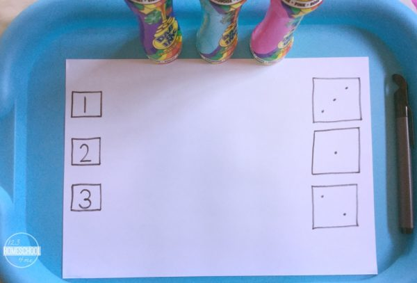 Preschool Numbers Activities