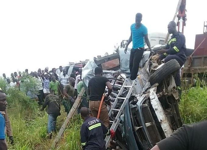 14 die in gory motor crash in Central region