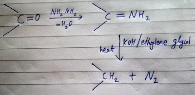 WOLFF - KISHNHER REDUCTION