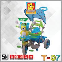 pmb t07 beruang sepeda roda tiga
