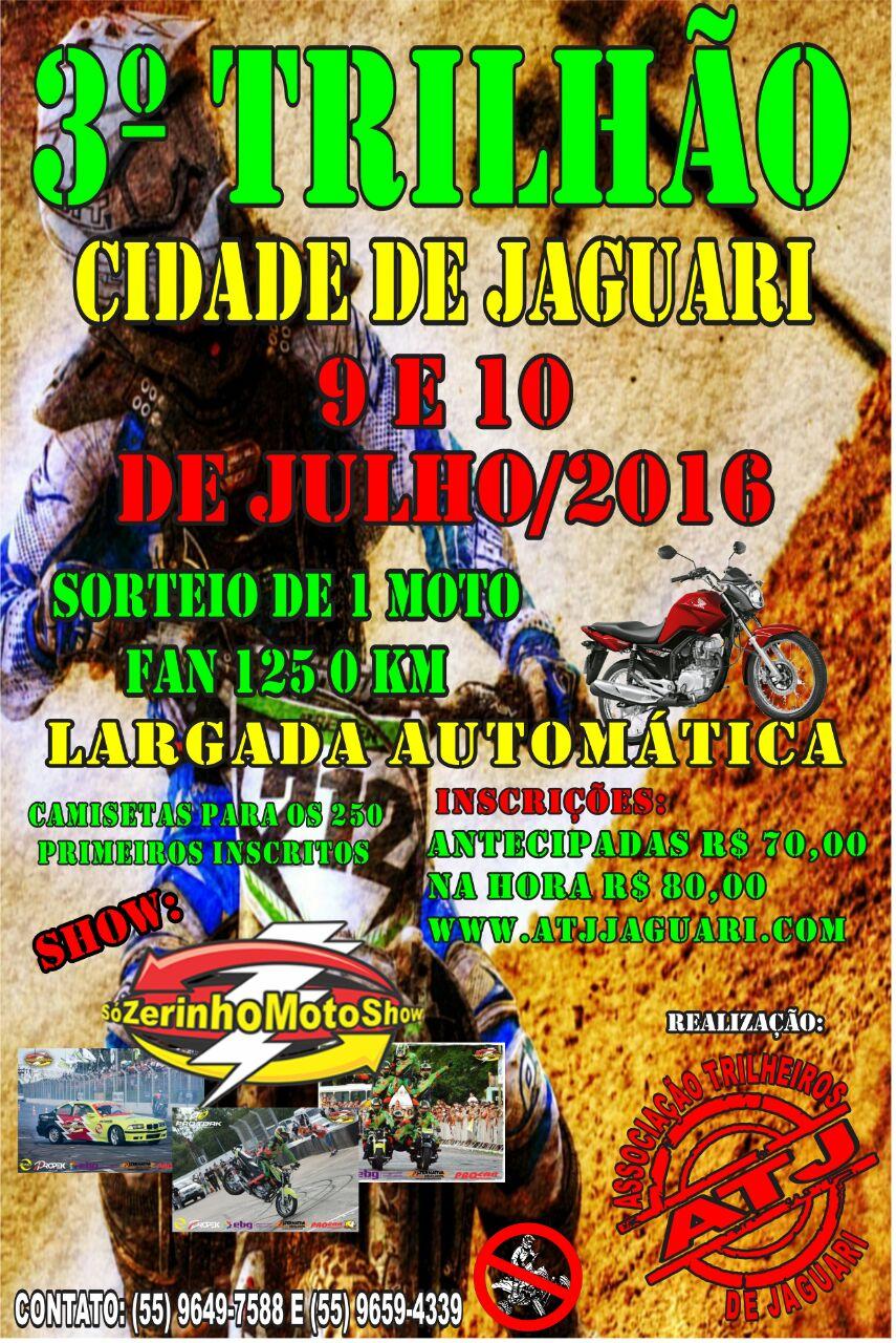 JAGUARI-RS, 10 Jul 16