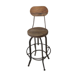 Eli High Back Stool from Dot and Bo - sponsored - Calypso in the Country blog