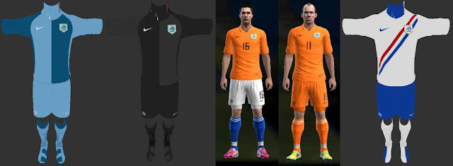 Netherlands 2006 World Cup Kits PES 2013