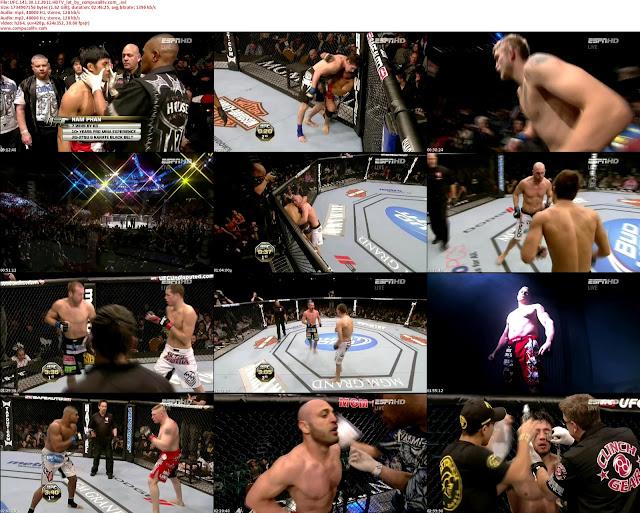 UFC 141 Lesnar vs Overeem 2011 HDTV Diciembre 30 Español Latino Descargar