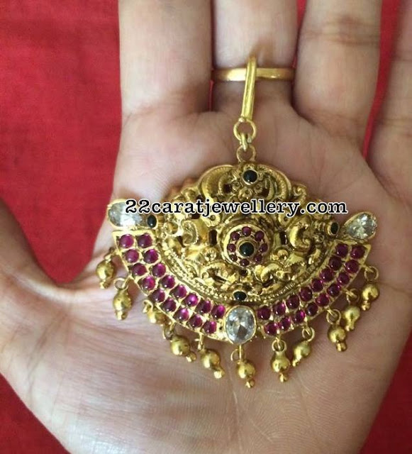 92.5 Silver Maang Tikka Designs