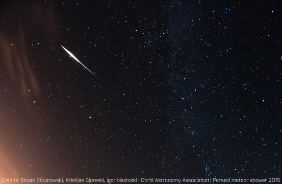 fotos da chuva de meteoros perseidas 5