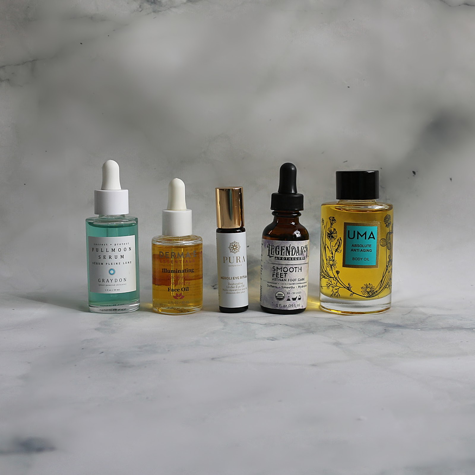 Go-To Serum Face Body Oil Blend Graydon Derma E Pura Botanicals