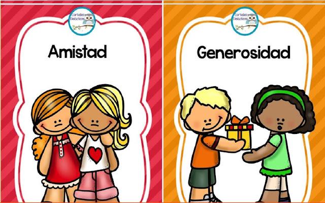 imagenes,valores,niños,primaria,dibujos