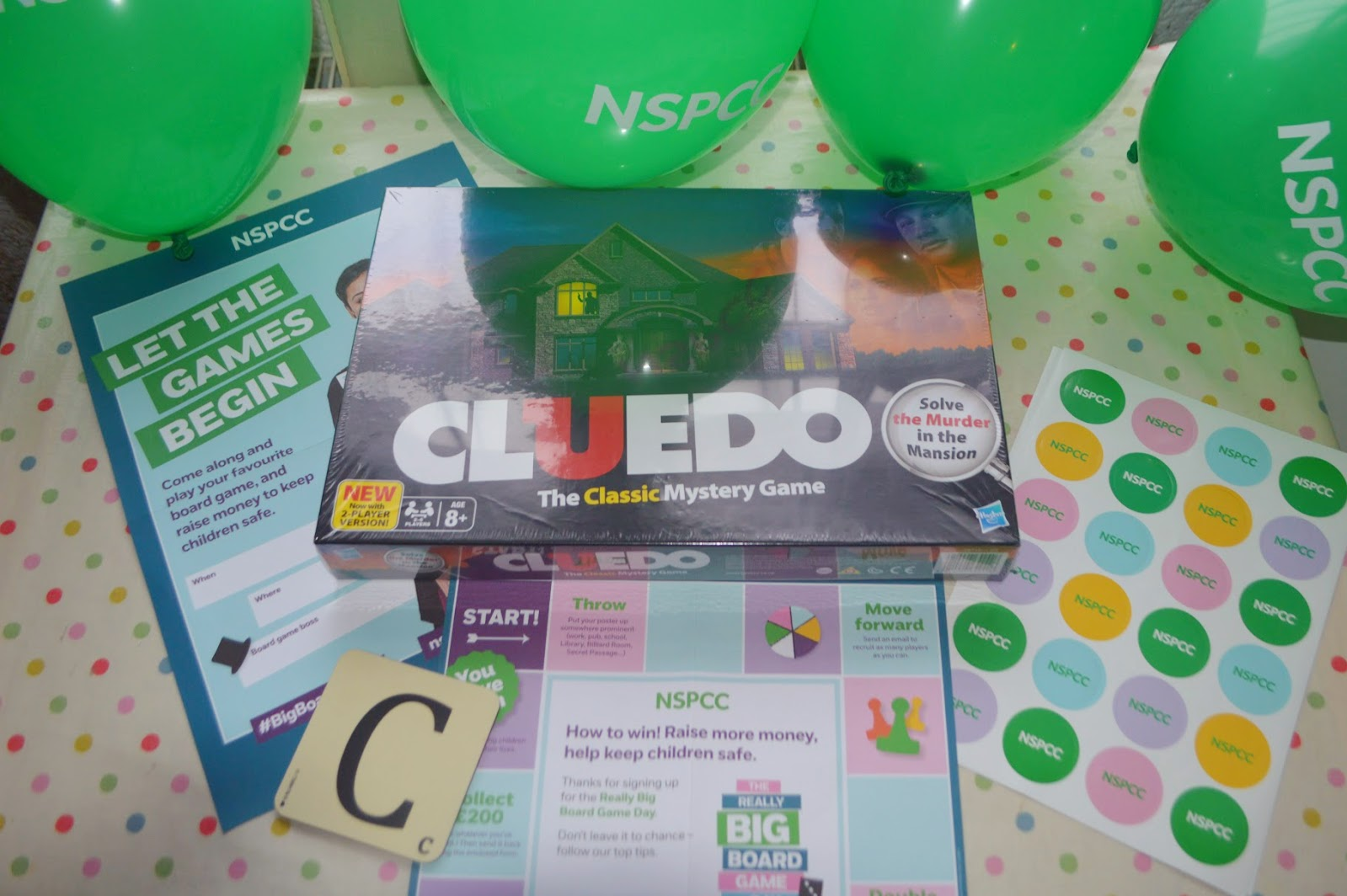 , AD | NSPCC Really Big Board Game Day