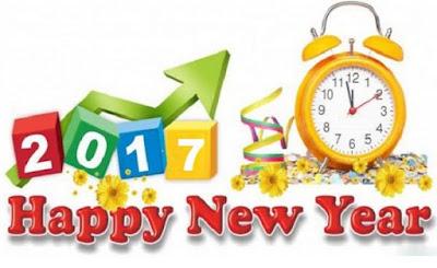 Gambar Ucapan Selamat Tahun Baru 2017 Happy New Year Terbaru