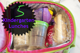 5+Kindergarten+Lunches - School Lunch Ideas For Kindergarten
