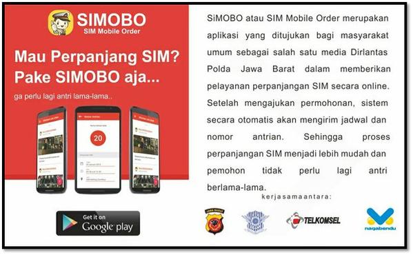 Perpanjang SIM Kini Bisa Dilakukan Lewat Aplikasi SIMOBO di Android