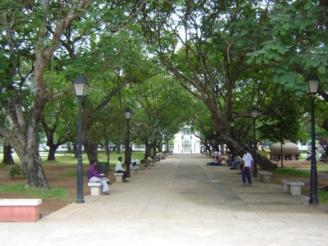 Bharati-Government-Park-Pondicherry
