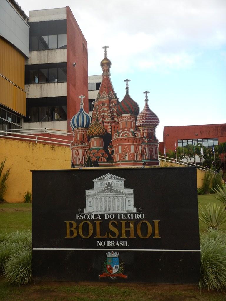 Visita guiada à Escola do Teatro Bolshoi