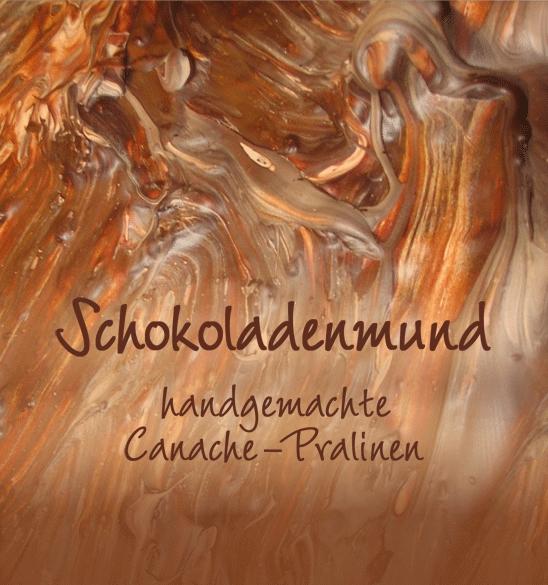 Handgemachte Canache-Pralinen von Schokoladenmund