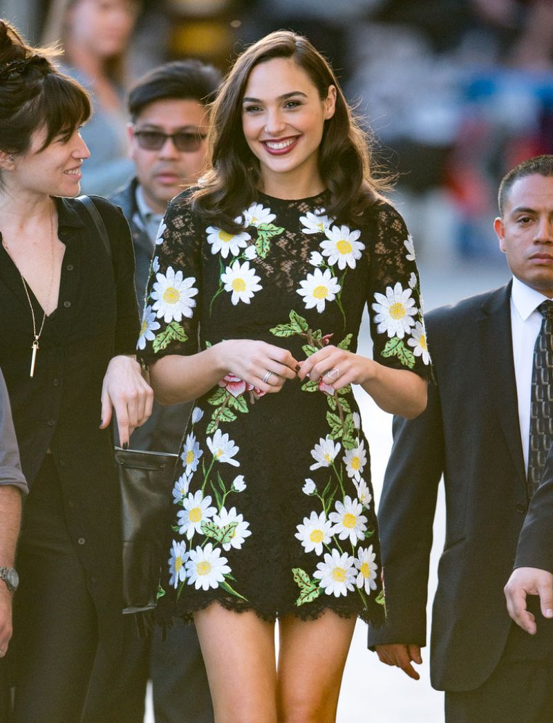 HQ Photos of HOT & Sexy Gal Gadot At Jimmy Kimmel Live In Hollywood