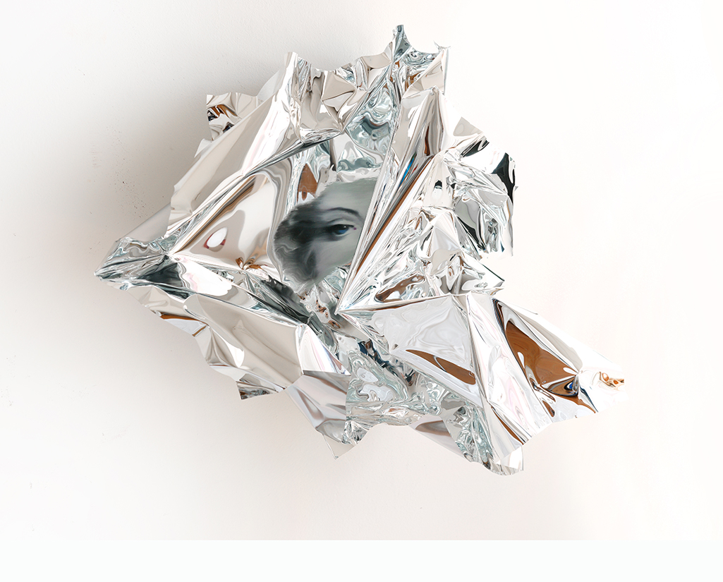 14-Martin-C-Herbst-Oil-Painting-on-Folded-Mirror-Polished-Aluminium-Foil-www-designstack-co