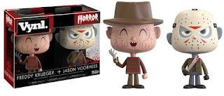 Freddy Krueger + Jason Vorhees Vynl.