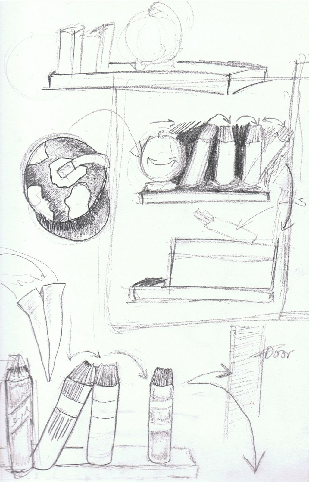 Animating The Future.: Annotated Pieces from my storyboard
