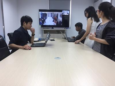 demo giải pháp hội nghị truyền hình đa điểm cho khách hàng