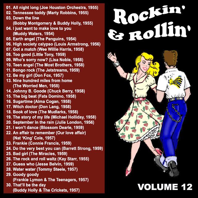 Cd collection Back To The 50's - Rockin' & Rollin' 12 Back