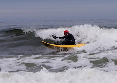 Cold Water Kayaker