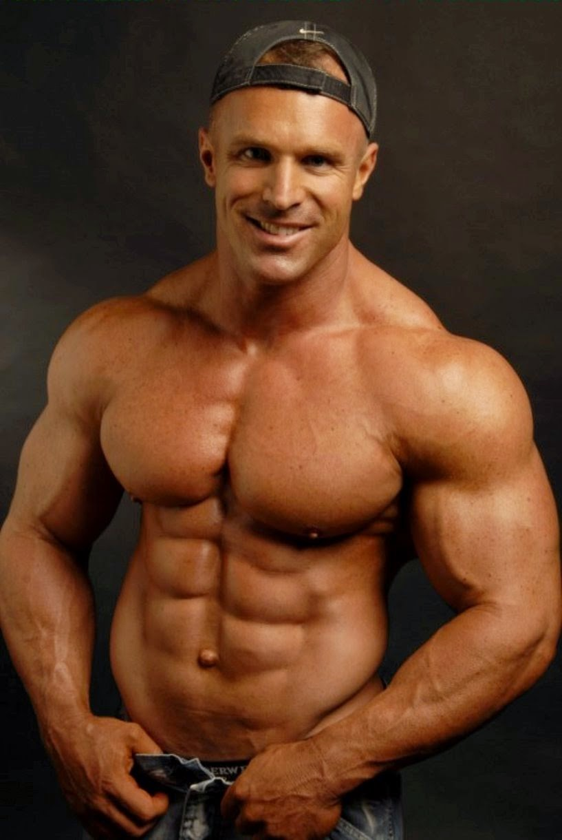 the beauty of male muscle: Con
