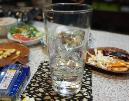 グラスの画像です