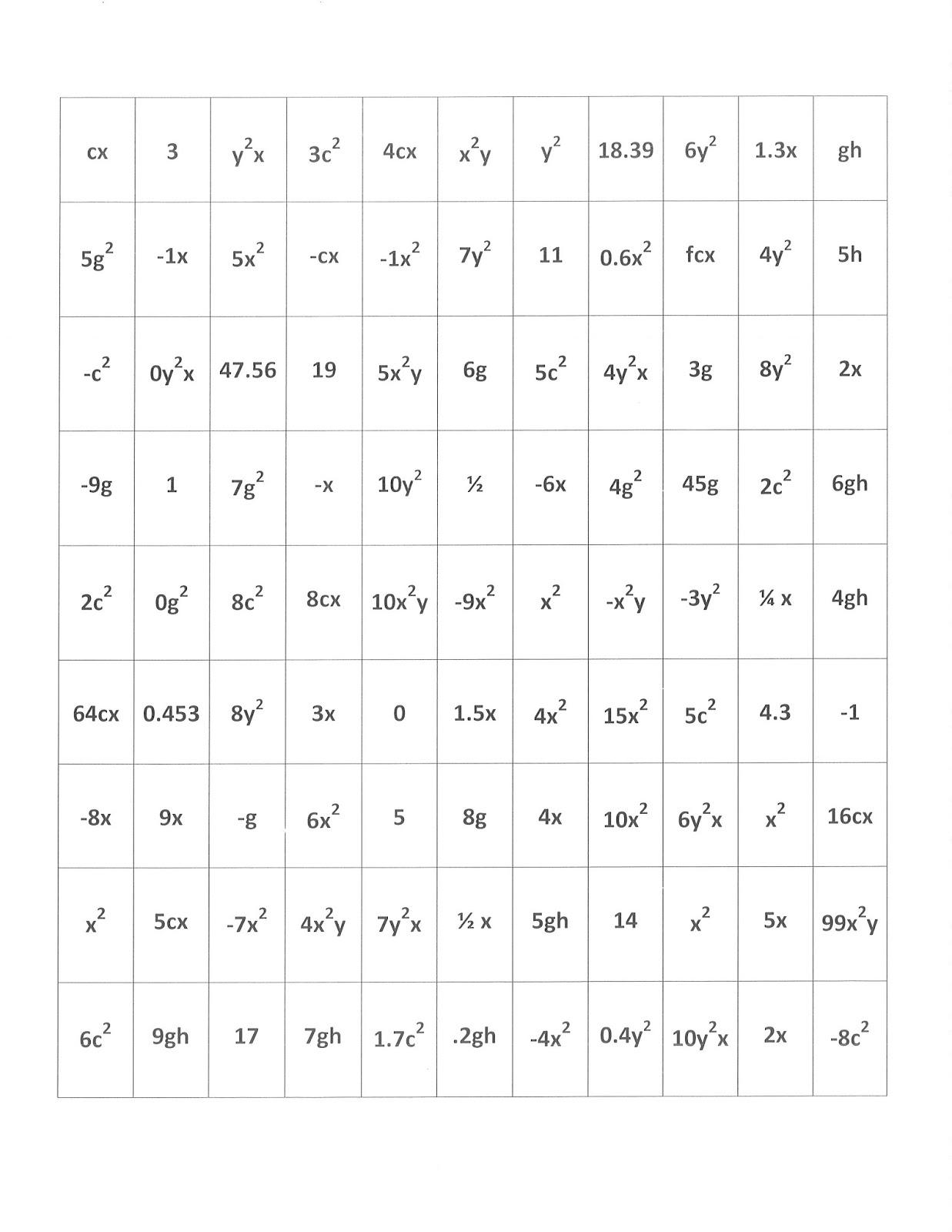 Mrs White S 6th Grade Math Blog 11 19 Homework