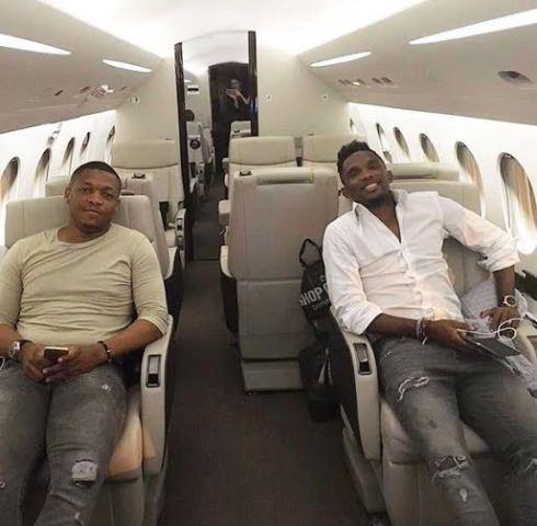 Samuel Eto'o's private jet seized in Nigeria