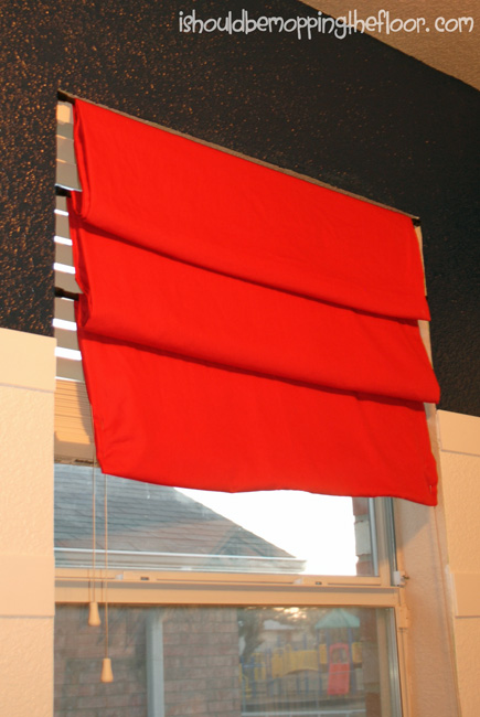 The Easiest Cheapest No Sew Window Treatment I Ve Ever