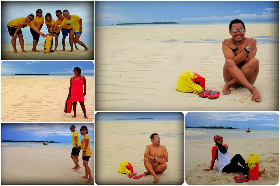 Eksis Di Pulau Gosong Derawan