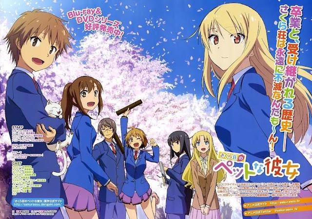 Hasil gambar untuk sakurasou no pet na kanojo season 2