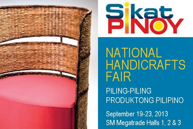 Sikat Pinoy National Handicrafts Fair 2013